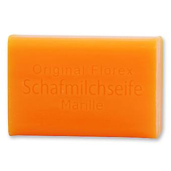 Savon de lait de brebis De Florex - Marille - Fruity Fresh Fragrance Sweet Skin Care 100 g