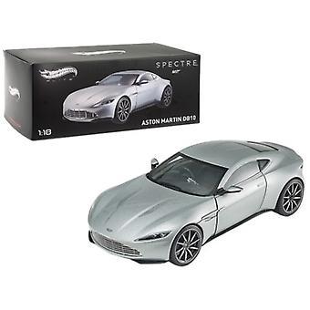Elite Edition Aston Martin DB10 James Bond 007 De 'Spectre' Movie 1/18 Diecast Model Car par Hotwheels