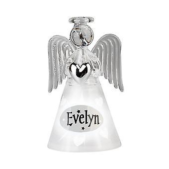 Geschiedenis & heraldiek engel-Evelyn