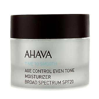 Ahava Time To Smooth Age Control Even Tone Moisturizer SPF 20 50ml/1.7oz