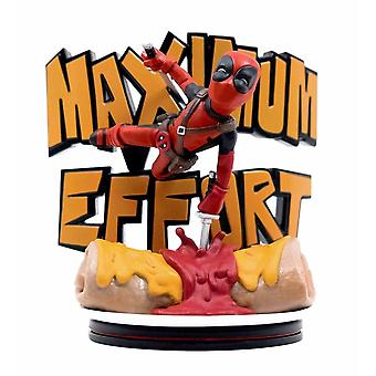 Q-Fig Max Statuette, Deadpool - Maximale Anstrengung