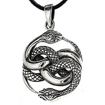 Riipus 237 käärmeet-hopea