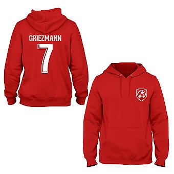 Antoine Griezmann 7 Atheltico Madrid Style Player Kids Hoodie