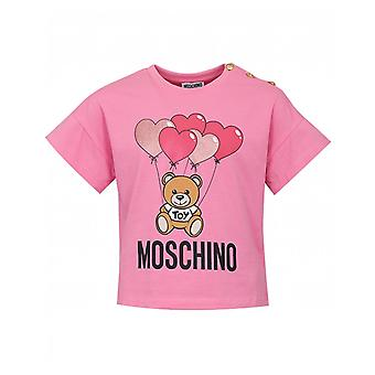 Moschino κουμπιών καρδιά περικοπή κορυφή
