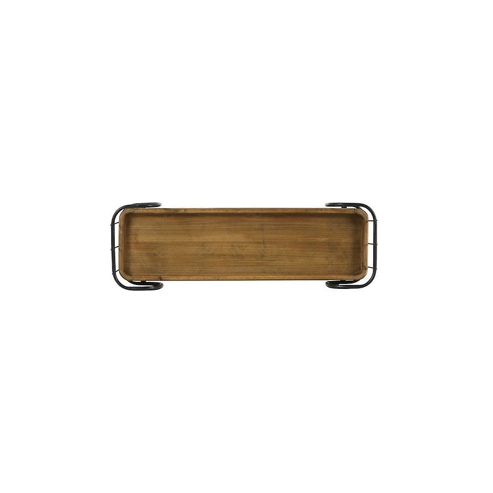 Cabinet de mur léger et vivant 3 Laags 70x22.5x77cm Zyra Black