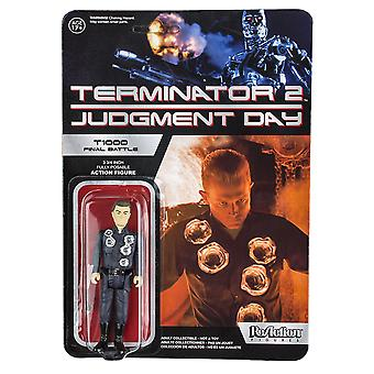 Terminator 2 Judgment Day T-1000 Final Battle Reaction Fig