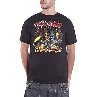 Tankard T Shirt Chemical Invasion Band Logo new Official Mens Black