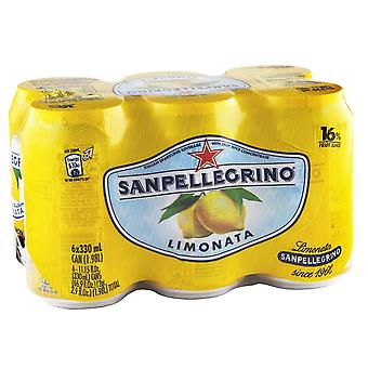 San Pellegrino Limonata-( 330 Ml X 6 Cans )