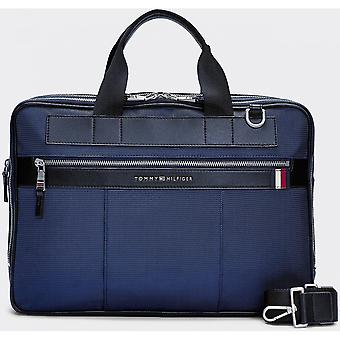 Tommy Hilfiger Blue Nylon Computer Bag
