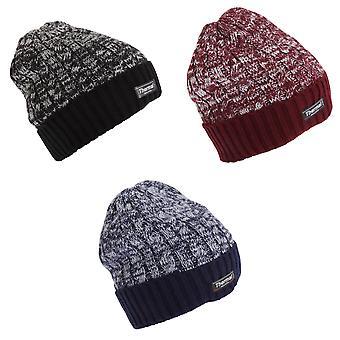 Aikuiset Unisex lämpö kaksi sävy talvella pipo hattu
