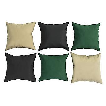"""6pk Base Colors Outdoor Mini 8"""" Cojines impermeables tela muebles de jardín"""