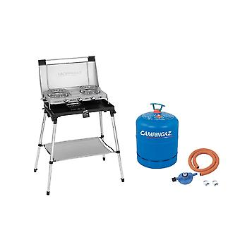 Campingaz Series 600 ST Stove and Toaster Silver + Free Campingaz Hose &
