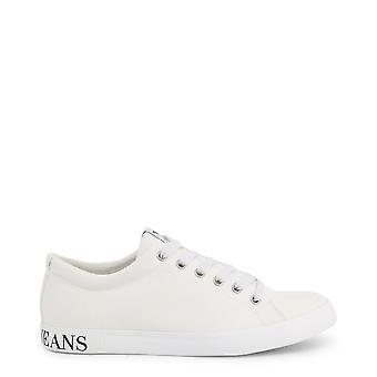 Armani Jeans Orjinal Erkek İlkbahar/Yaz Spor Ayakkabıları Beyaz Renk - 72339