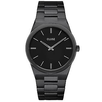Cluse Watches Cw0101503005 Vigoureux 40 Full Black Stainless Steel Men's Watch