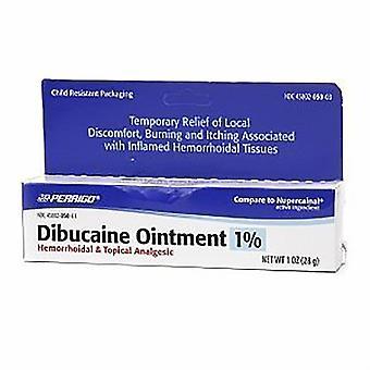 Perrigo dibucaine ointment 1%, hemorrhoidal & topical analges, 1 oz