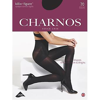 Charnos New Killer Figure Opaque Control Tights