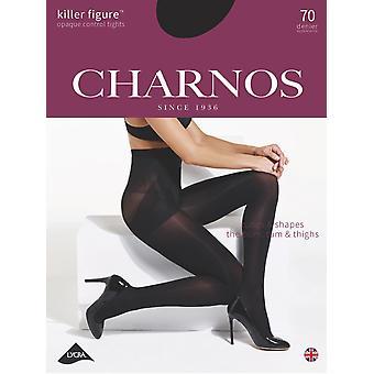 Charnos nieuwe Killer figuur ondoorzichtige Control panty 's