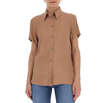 N°21 G05251114741 Women's Beige Acetate Shirt