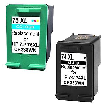 74XL Compatible Inkjet Cartridge Set 1 2 Cartridges