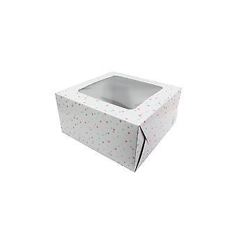 """Culpitt Multi Spot Cake Box 10"""""""