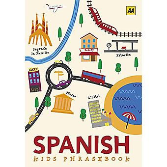 Spanish Phrasebook for Kids - 9780749581718 Book
