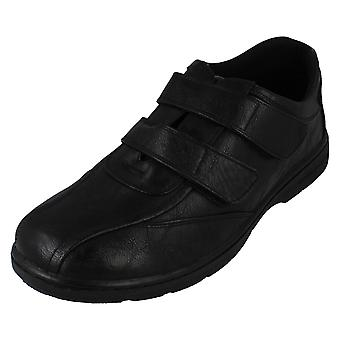 Mens Caravelle Casual Hook & Loop Fastening Shoes Frank