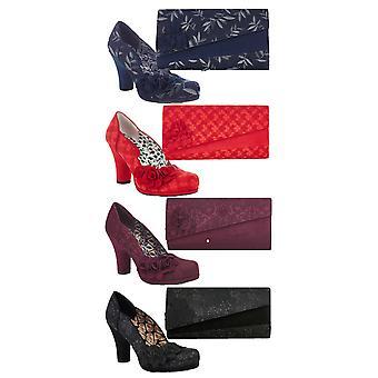روبي شو المرأة & ق شارلوت المحكمة مضخات الأحذية ومطابقة حقيبة أكسفورد