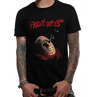 Friday The 13th Adults Unisex Dagger Design T-Shirt