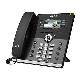 Htek Gigabit Color Ip Phone With Bluetooth Wifi Up To 12 Sip Accounts
