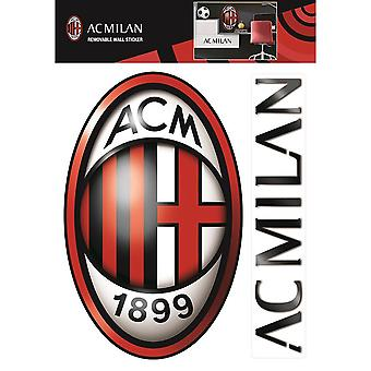 AC Milan Official Wall Stickers (Set of 2)