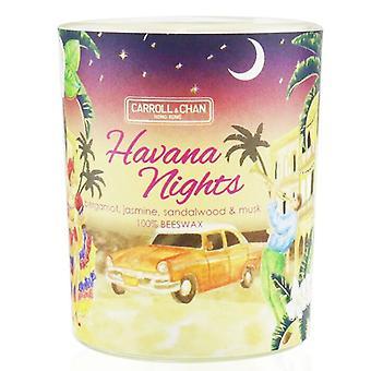 Carroll & Chan 100% Beeswax Votive Candle - Havana Nights 65g/2.3oz