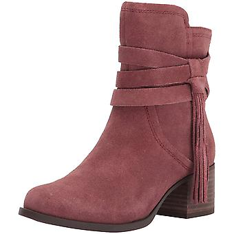 Koolaburra Womens Kenz Suede Round Toe Ankle Fashion Boots