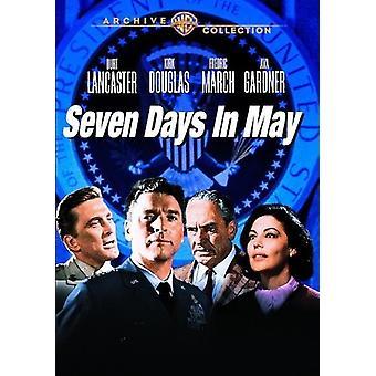 Sept jours en mai (1964) [DVD] USA import