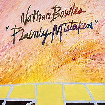 Nathan Bowles - Plainly Mistaken [CD] USA import