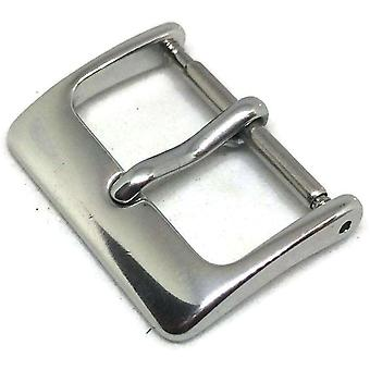 Watch strap buckle chrome plated lightweight aluminium size 6mm to 36mm