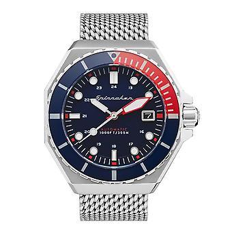 Spinnaker SP-5081-66 Gent's Dumas Blaues Zifferblatt Armbanduhr