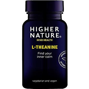 Higher Nature L-Theanine Vegan Capsules 90 (QTH090)