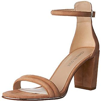 Kenneth Cole New York Womens KL05494SU Suede Open Toe Casual Ankle Strap Sand...