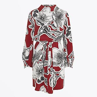 Stine Goya - Robe de soie Jacob - Rouge