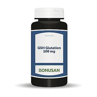 Gsh Glutathione 60 capsules of 100mg