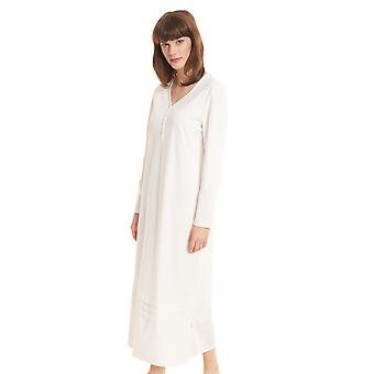 Féraud High Class 3201215-11697 Women's Ivory Cotton Nightdress