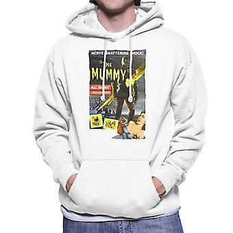 Hammer Horror films Mummy zenuw Shattering shock mannen ' s Hooded Sweatshirt