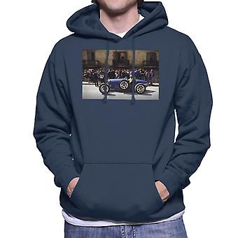 Bugatti Type 3 kilpa-auto ampui Miesten huppari