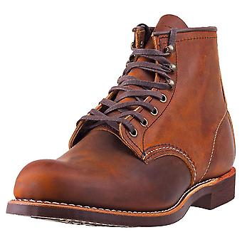 Red Wing Blacksmith Heritage Mens Casual Boots in Koper