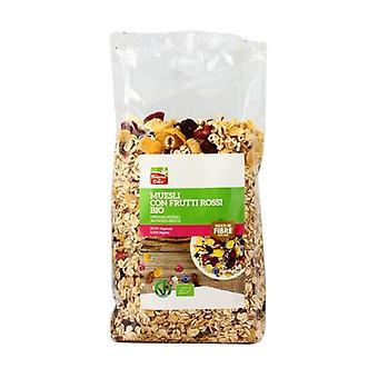 Muesli with organic red fruits 375 g