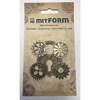 Mitform Gear 30 Metal Embellishments