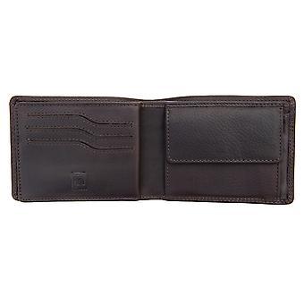 Portefeuille en cuir Primehide RFID Bloquant le porte-cartes homme Gents Notecase 5802