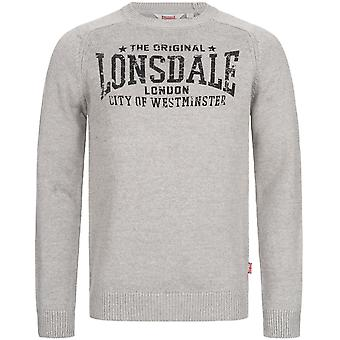 Lonsdale Men's Knit Sweater Talgarreg