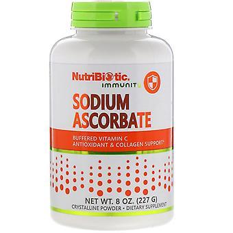 NutriBiotic, Immuniteit, Natriumascorbaat, Kristallijn Poeder, 8 oz (227 g)