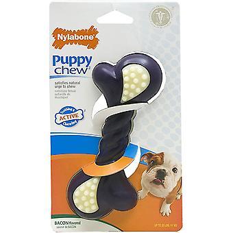 Double Action Nylabone Puppy kauwen Regular